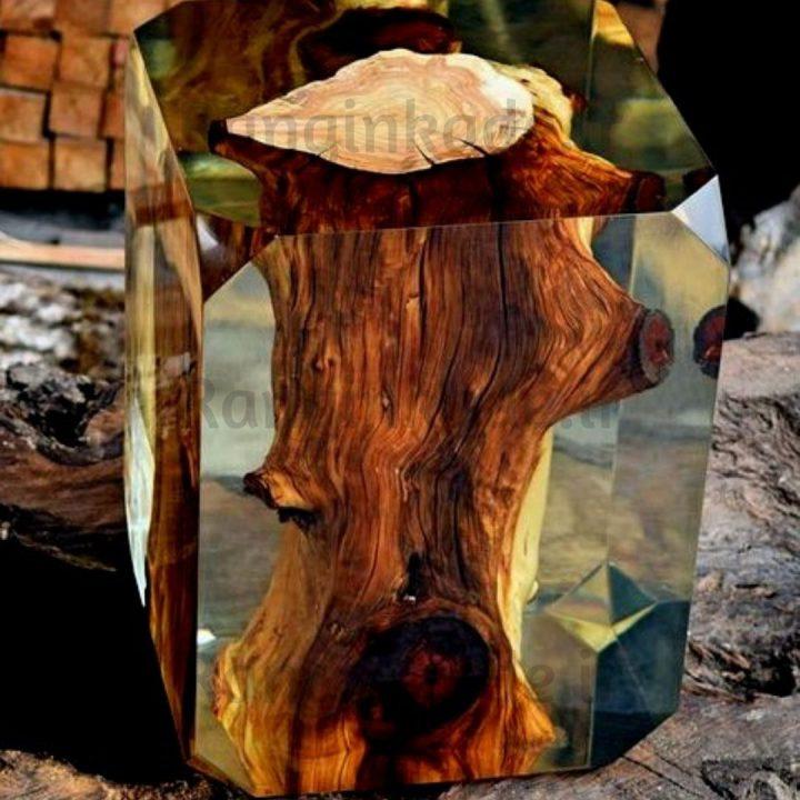 قیمت رزین چوب شفاف